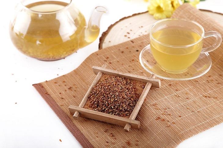 как заваривается гречишный чай