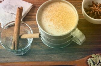 Чай латте